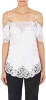 Givenchy Women's Flutter-Sleeve Camisole-WHITE