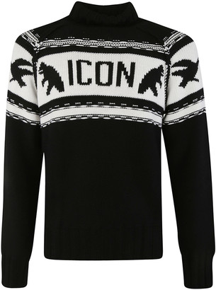 DSQUARED2 Icon Woven Sweater