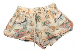 Zimmermann Beige Cloth Shorts