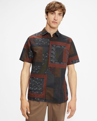 Ted Baker Patchwork Print Shirt