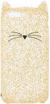 Kate Spade Glitter Cat iPhone 7 Case