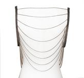 Louise Manna Snakeskin Vest Necklace