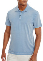 Kenneth Cole Textured Cotton Polo