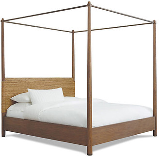 Gemma Canopy Bed - Smooth Mesa - Brownstone Furniture