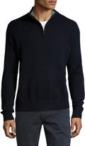 Toscano Men's Mock Turtleneck Knit Sweater