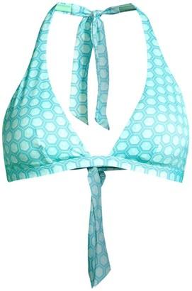 Vilebrequin Fleche Halter Bikini Top