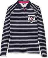 Tommy Hilfiger Women's Tomasa Rugby LS Polo Shirt,(Manufacturer Size: Large)