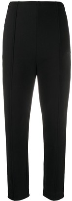 Y-3 High-Rise Slim-Fit Trousers