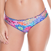 Luli Fama Full Ruched Back Bottom In Multicolor (L491521)