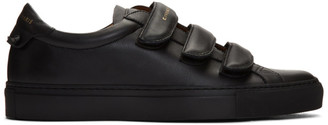 Givenchy Black Urban Street Straps Sneakers