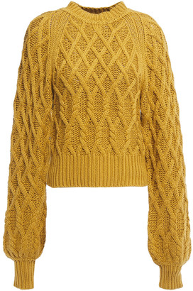 Equipment Cable-knit Cotton Sweater