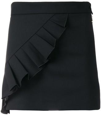 Patrizia Pepe Ruffle-Trim Mini Skirt