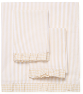 Melange Home Striped Cotton Percale Sheet Set