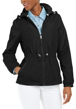 Maralyn & Me Juniors' Drawstring Anorak Jacket