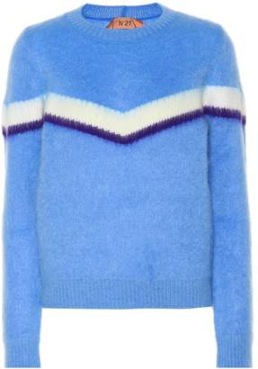 N°21 Mohair and wool-blend sweater
