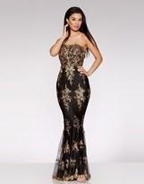 Quiz Embellished Fishtail Maxi Dress