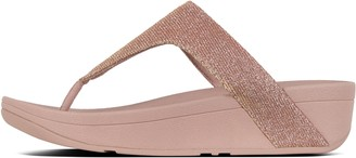 FitFlop Lottie Glitzy Toe-Post Sandals