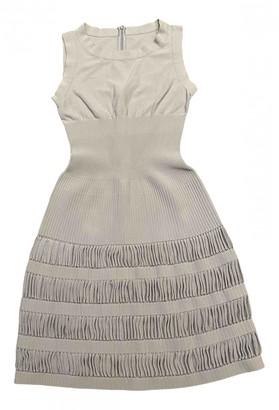 Alaia Blue Silk Dress for Women