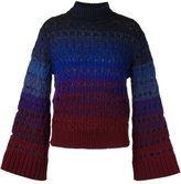 Kenzo perforated jumper - women - Polyamide/Mohair/Wool - XS