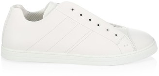 Fendi FF Taping Laceless Low-Top Sneakers