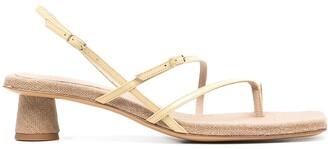 Jacquemus Basgia strappy sandals