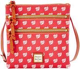 Dooney & Bourke Washington Nationals Triple Zip Crossbody Bag