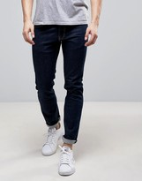 Love Moschino Slim Fit Jeans with Moschino Back Waist Tab