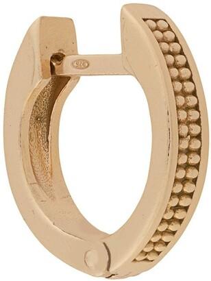 Emanuele Bicocchi Dotted Hoop Earring