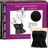 Braza Wild Card Bandeau Midriff Cover Up, Medium, Black 1 ea