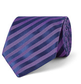 Charvet 8cm Striped Silk-Jacquard Tie