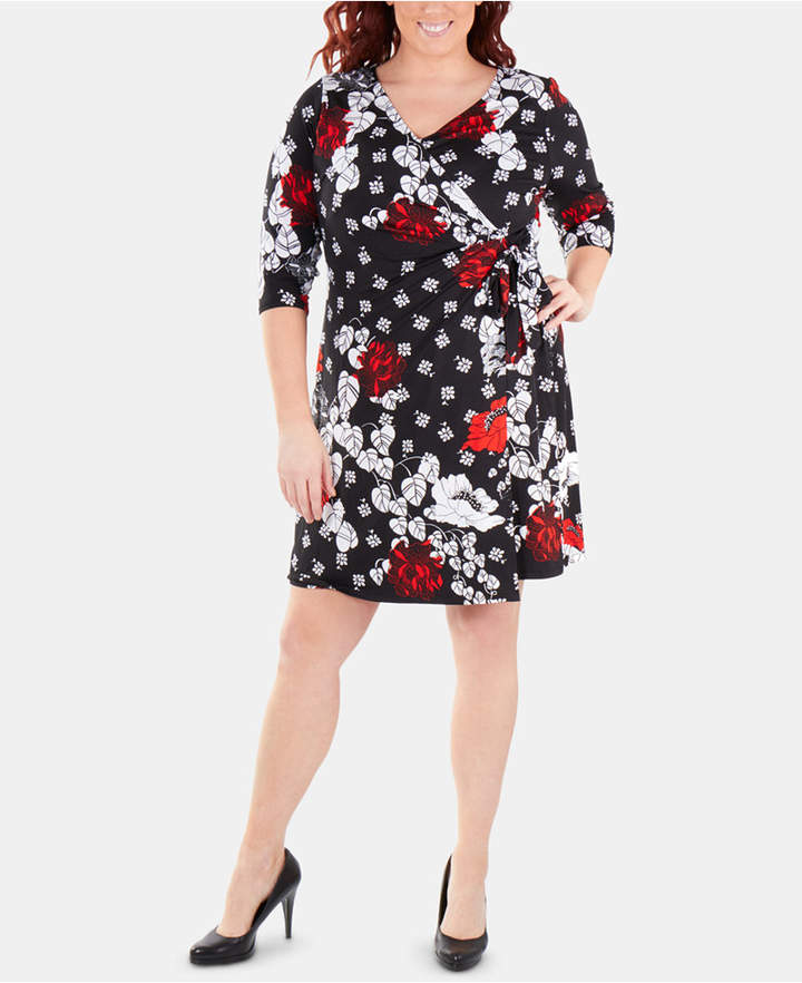 00f98b09200 Plus Size Wrap Dress - ShopStyle