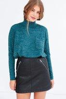 BDG Layne Marled Mock Neck Sweater