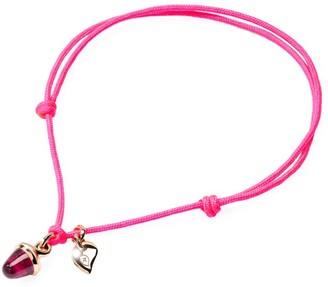 Tamara Comolli 18K Rose Gold Tourmaline Nylon Bracelet