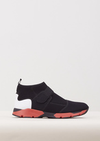 Marni black / red / white sneaker boot shoe