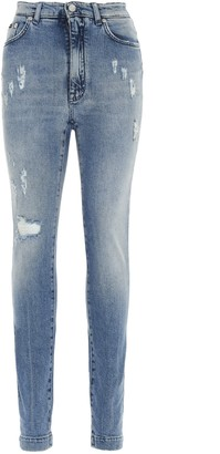 Dolce & Gabbana Audrey Distressed Jeans