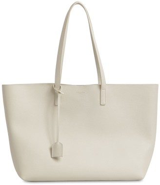 Saint Laurent SMOOTH LEATHER SHOPPING BAG