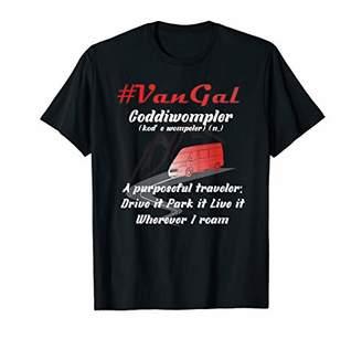 Camper RV Van VanGal Drive it Park it Live it T-Shirt