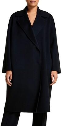 Marina Rinaldi, Plus Size Double Wool Coat