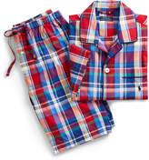 Ralph Lauren Plaid Cotton Sleep Short Set