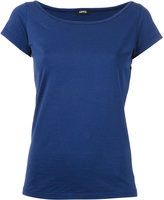Aspesi cap sleeve T-shirt - women - Cotton - S