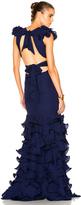 Johanna Ortiz El Encanto Silk Double Georgette Dress