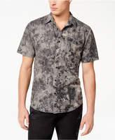 American Rag Men's Denim Tie-Dyed Shirt, Created for Macy's