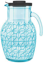 Luigi Bormioli Prezioso Glass Pitcher - Blue