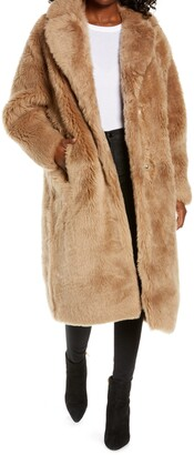 UGG Esme Long Genuine Toscana Shearling Coat