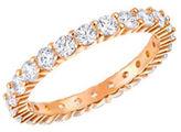Swarovski Crystal & Rose Gold Ring