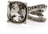 St. John Swarovski Crystal Cocktail Ring