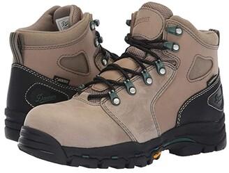 Danner Vicious 4 Composite Toe (Brown/Green) Women's Boots