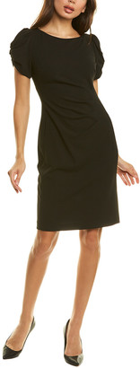 Karl Lagerfeld Paris Ruched Sheath Dress