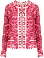 Cecilia Prado knit cardigan - women - Acrylic/Lurex/Polyamide - PP