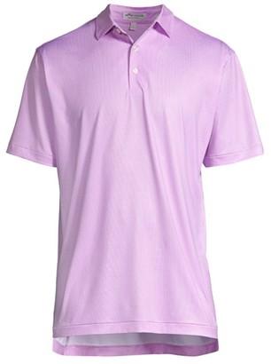 Peter Millar Drew-Print Martini Polo Shirt